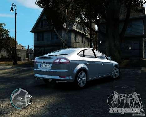 Ford Mondeo 2009 v1.0 pour GTA 4 est un droit