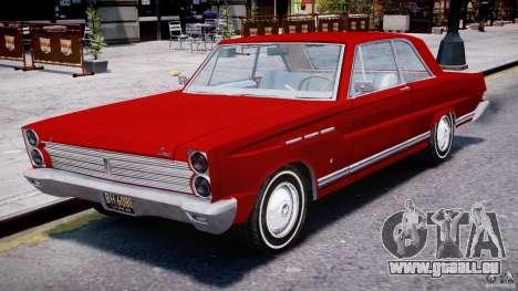 Ford Mercury Comet 1965 pour GTA 4 est une gauche