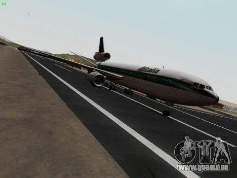 McDonell Douglas DC-10-30 Alitalia pour GTA San Andreas vue de droite