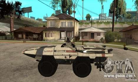 M35 Mako pour GTA San Andreas laissé vue
