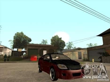 Chevrolet Cobalt ss Tuning pour GTA San Andreas vue arrière