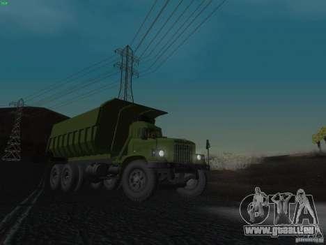 KrAZ-256 b 1-030 pour GTA San Andreas salon