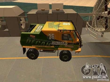 UAZ 2206 expédition pour GTA San Andreas vue arrière