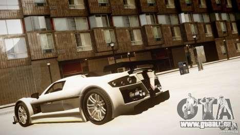 Gumpert Apollo Sport KCS Special Edition v1.1 pour GTA 4 est un droit