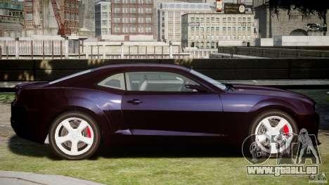 Chevrolet Camaro SS 2009 v2.0 pour GTA 4 Vue arrière de la gauche