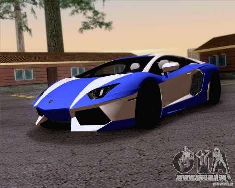 Lamborghini Aventador LP700-4 2011 für GTA San Andreas Motor