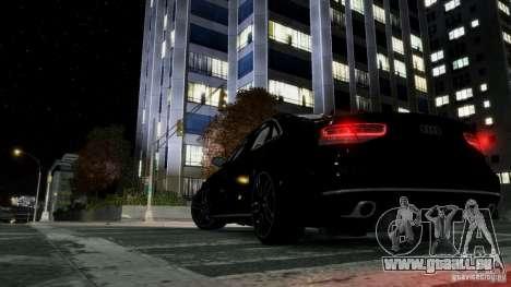 Audi A8 LED 2012 für GTA 4 Rückansicht