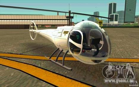 Dragonfly - Land Version pour GTA San Andreas laissé vue