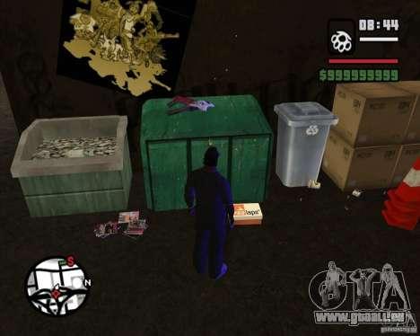 Clochards dans la ruelle pour GTA San Andreas deuxième écran