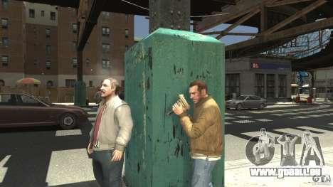 Uzi Skin für GTA 4 dritte Screenshot