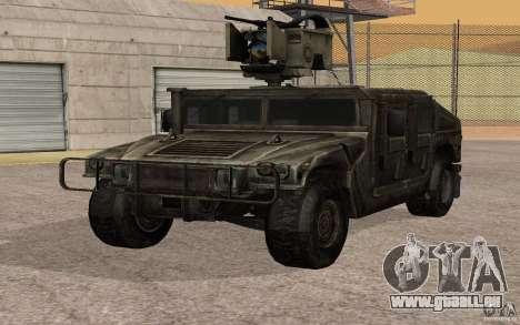 Hummer H1 from Battlefield 3 für GTA San Andreas
