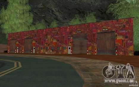 Un nouveau village Dillimur pour GTA San Andreas huitième écran