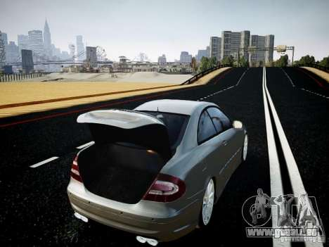 Mercedes-Benz CLK63 AMG Final für GTA 4 Rückansicht