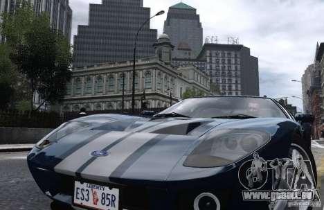 Ford GT 2005 für GTA 4 hinten links Ansicht