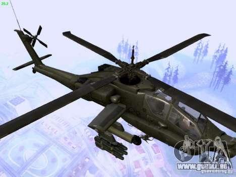 HD Hunter pour GTA San Andreas vue de côté