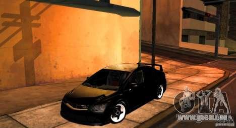 Honda Civic JDM pour GTA San Andreas vue arrière