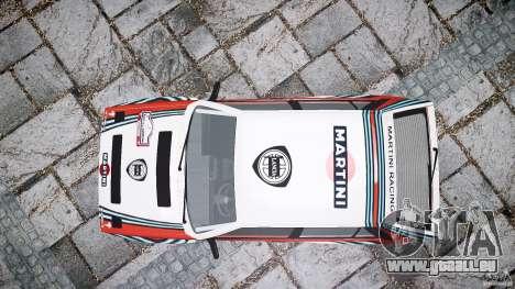 Lancia Delta Integrale Martini 1992 für GTA 4 rechte Ansicht