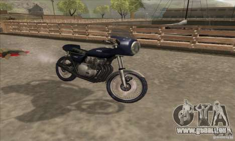 Kawasaki KZ1000 für GTA San Andreas rechten Ansicht