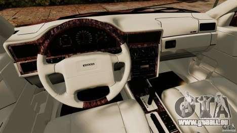 Volvo 850 Wagon 1997 pour GTA 4 Vue arrière