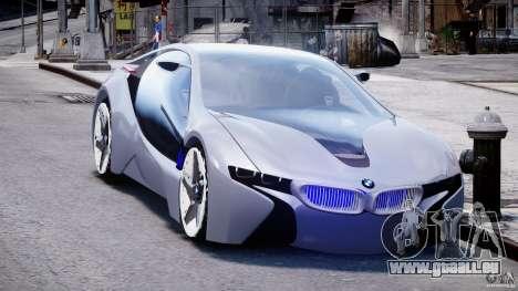 BMW Vision Efficient Dynamics v1.1 für GTA 4 Rückansicht
