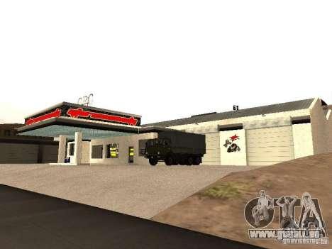 Garage de la GRC en fo pour GTA San Andreas
