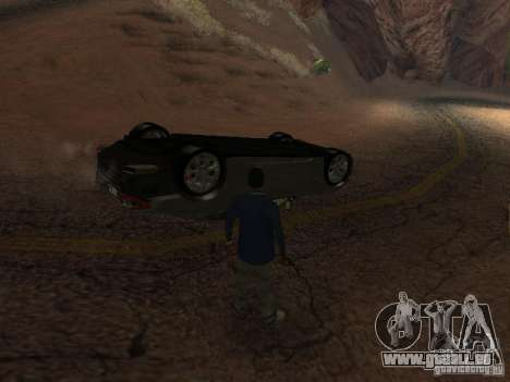 Umgestürzten Autos brennen nicht für GTA San Andreas her Screenshot
