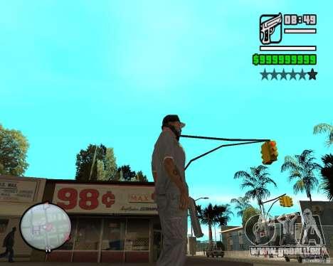Change Hud Colors für GTA San Andreas achten Screenshot