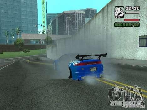 Mitsubishi Eclipse Tunning für GTA San Andreas rechten Ansicht