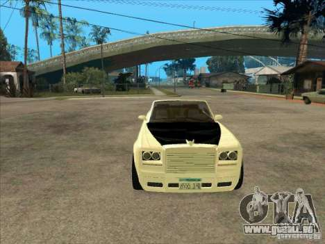 GTA 4 TBOGT Super Drop Diamond für GTA San Andreas Rückansicht