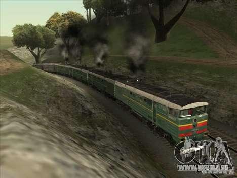 4TÈ10S-0013 pour GTA San Andreas vue arrière