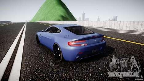 Aston Martin V8 Vantage V1.0 pour GTA 4 Vue arrière de la gauche