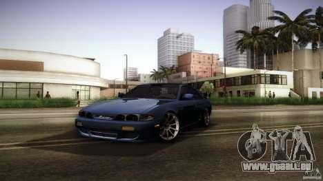 Nissan Silvia S14 Zenk für GTA San Andreas Seitenansicht