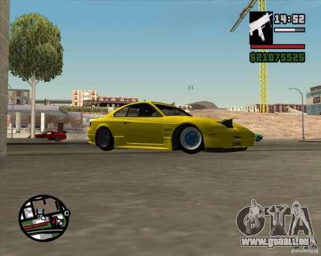 Nissan S330SX Japan SHK style pour GTA San Andreas vue de côté
