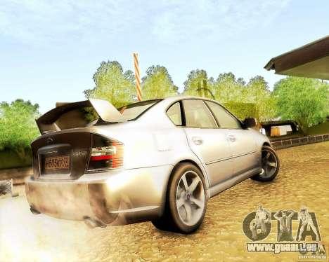 Subaru Legacy 3.0 R tuning für GTA San Andreas zurück linke Ansicht