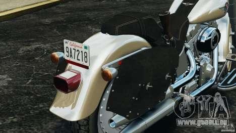 Harley Davidson Softail Fat Boy 2013 v1.0 für GTA 4 Innen