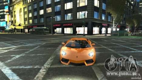 Lamborghini Aventador LP700-4 2011 EPM pour GTA 4 Vue arrière