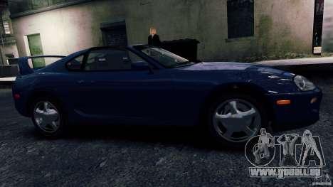 Toyota Supra RZ 1998 pour GTA 4 est une gauche