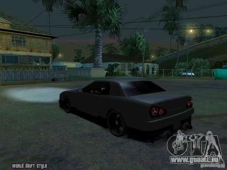 ELEGY BY CREDDY für GTA San Andreas linke Ansicht