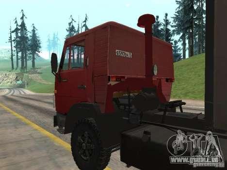 KAMAZ 5410 pour GTA San Andreas vue arrière