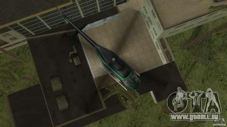 FBI Maverick pour GTA Vice City sur la vue arrière gauche