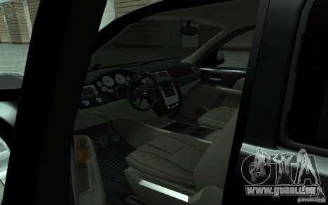 Chevrolet Suburban 2010 pour GTA San Andreas vue arrière