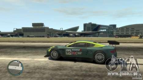 Aston Martin DBR9 für GTA 4 linke Ansicht