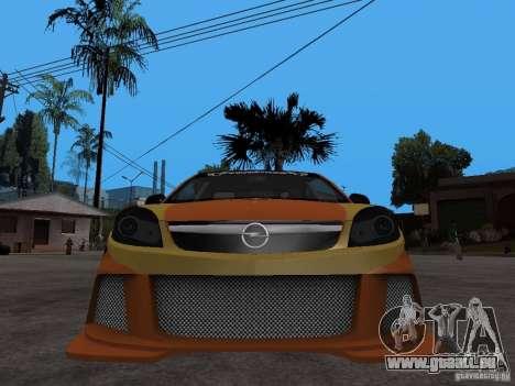 Opel Vectra für GTA San Andreas rechten Ansicht