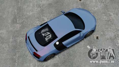 Audi R8 pour GTA 4 est un droit