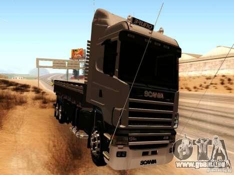 Scania 124G R400 pour GTA San Andreas laissé vue