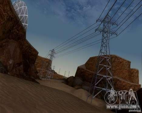 HQ Country N2 Desert pour GTA San Andreas cinquième écran