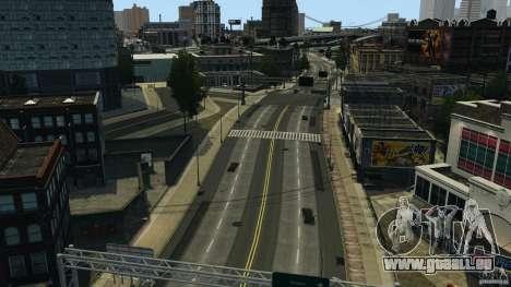 Ville vide pour GTA 4 secondes d'écran