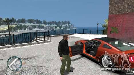 Ford Mustang Boss 302 2012 für GTA 4 Innenansicht