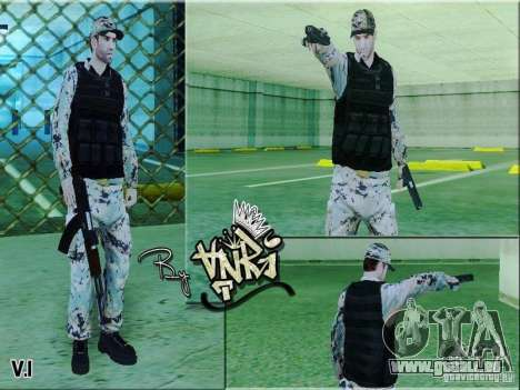 Army Soldier Skin pour GTA San Andreas