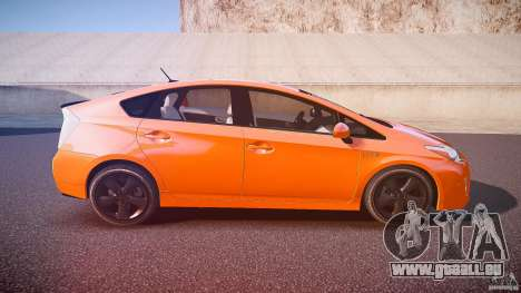Toyota Prius 2011 pour GTA 4 vue de dessus